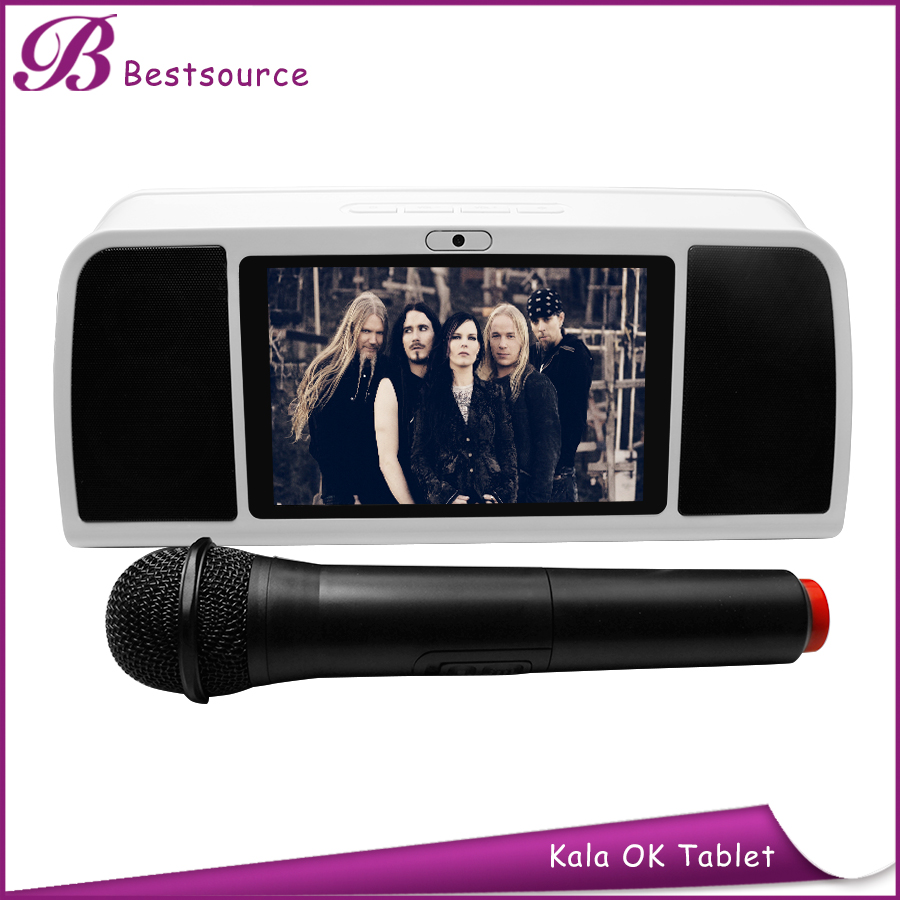 portable 7inch bluetooth tablet with mini karaoke in philippines
