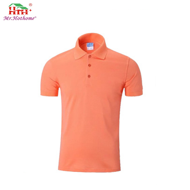 High Quality Wholesale 100% Cotton Polo Neck Printing Custom T Shirt