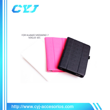 "China mini 7"" tablet case for Huawei media pad 7 vogue-601"