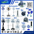 Leege manufacturer promotion all kinds of electric fan