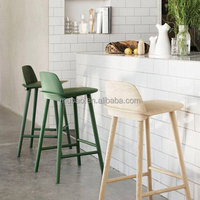 hot sale modern classical furniture leisure barstool candy color apple bar stool