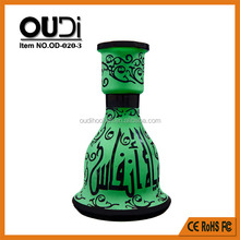 High Quality Large Base Hookah Vase for Al Fakher