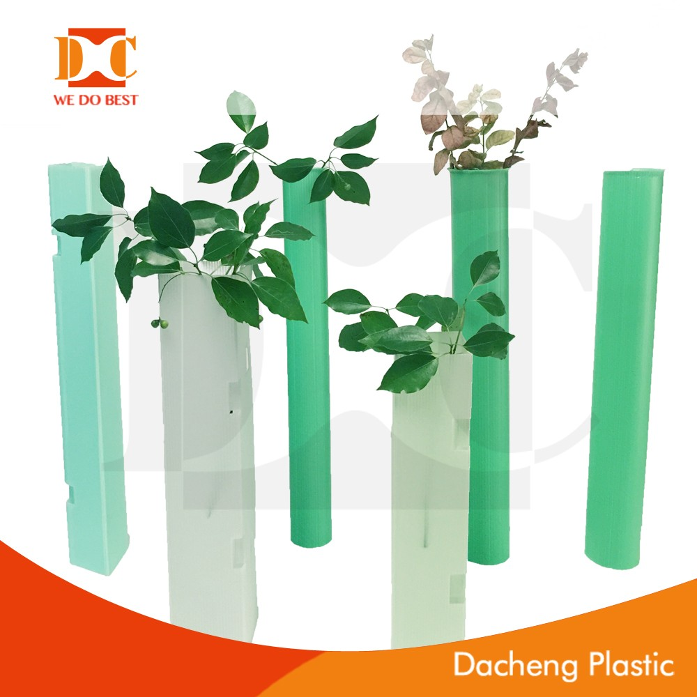 Eco-Friendly pp coroplast tree guard