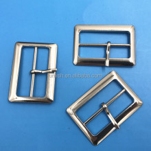 Shiny Silver Gun metal Zinc Alloy Metal Pin Buckle