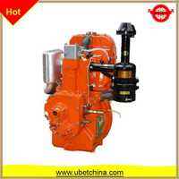 XD195 vertical one cylinder 4 stroke water-cooled for tractor diesel engine