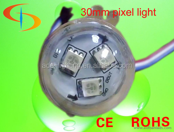 Amusement outdoor and indoor light rgb amusment led cabochon