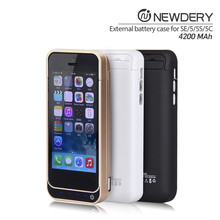 Best quality 4200mah Power Case External Battery Pack Case For Iphone 5 SE 5s used mobile phones