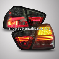 For BMW E90 3 Series 320i 323i 325 330 335 LED Tail Lamp 2007-2009 Year All Black V1
