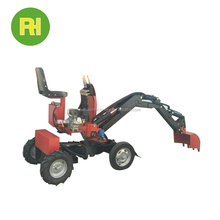 China mini digger with joystick for sale