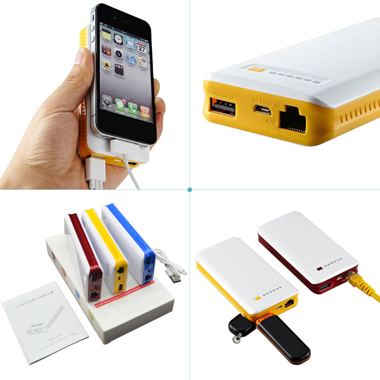 pocket wifi 3g wireless router with sim card slot,3g portable wireless wifi router802.11N with Power Bank for tablet