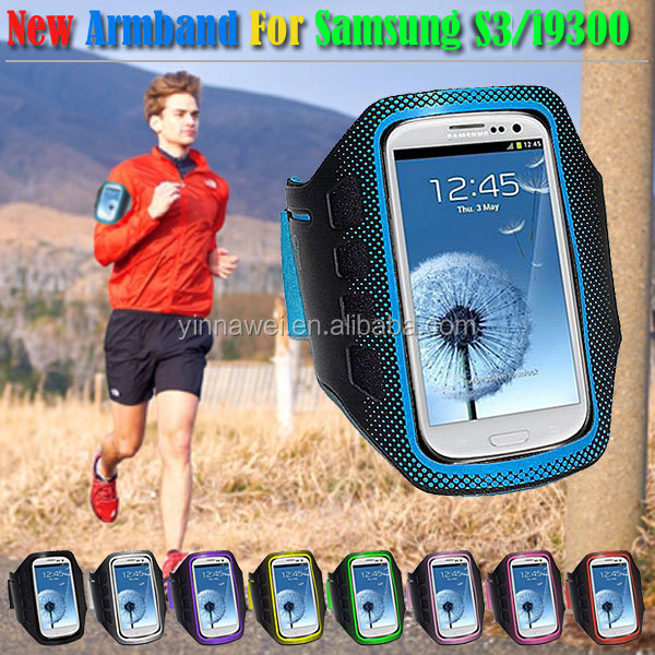 For samsung galaxy s3 Waterproof Sport armband case cover