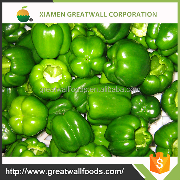 IQF whole green pepper wholesale