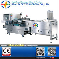 Taiwan Best Quality Fully Automatic paper plastic cup sealing machine