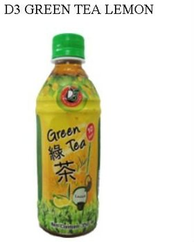 D3 GREEN TEA LEMON