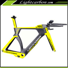 2017 LightCarbon Full Carbon Fiber Blade tube shape Road Bike Frame Triathlon Time Trial LCTT004