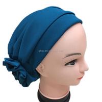 Flower turban cap Headcover for Cancer Chemo Hair Loss