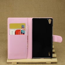 Good quality Crazy Selling for huawei p7 mobile phone leather case