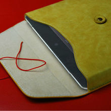 Envelope protection cover for ipad4 leather case tablet case