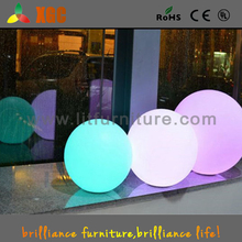 Exhibition display/home wireless inductive charging glowing mood light led ball