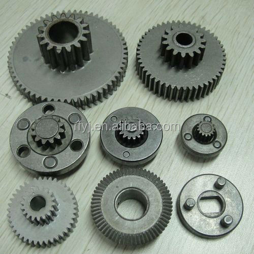 sintering gear heat treatment gear