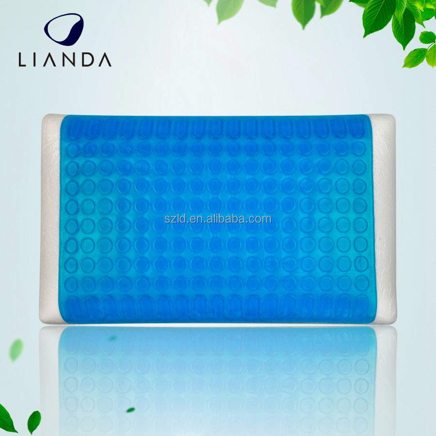 Rectangle Shape and Adults Age Group Static,Magnetic,Memory,Anti-Snore,Therapy,Massage,Cooling Feature Gel Memory Foam pillow