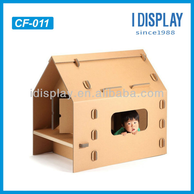 cardboard playhouse cardboard playhouses for kids