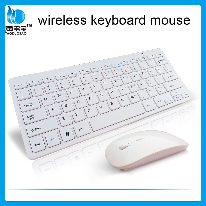 mini white wireless keyboard and mouse combo offers