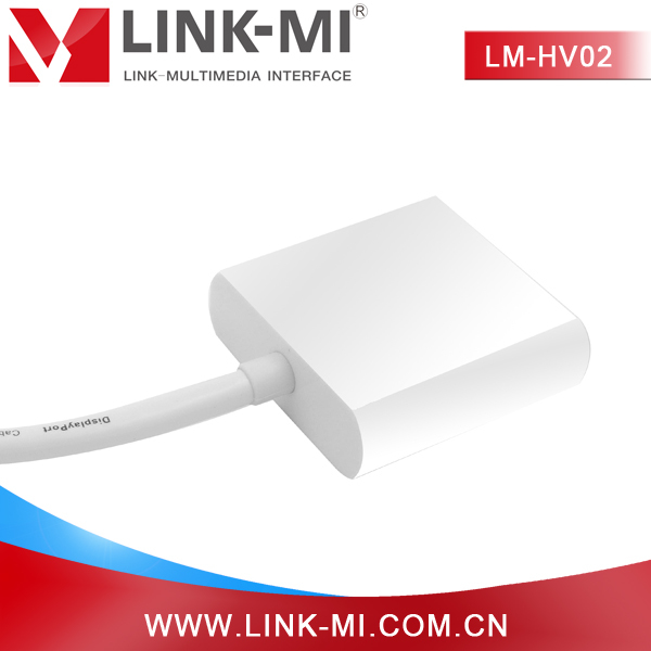 LINK-MI LM-HV02 No need extra power supply HDMI to VGA Display Adapter male hdmi to female vga converter