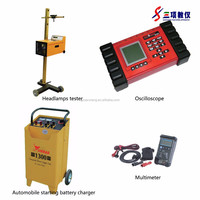 Headlamps tester, Oscillopscope, Automachine starting battery charger, Tool and Equipment