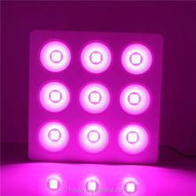 New Designed COB Led Grow Light with reflective cup COB chip 9x200W for medical indoor plants veg flower