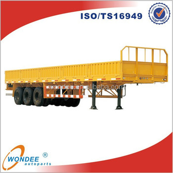 40ft Fence 3 Axles Cargo Semi-trailer