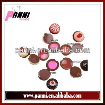 Wholesale makeup lip balm five flavor charming mini lip balm
