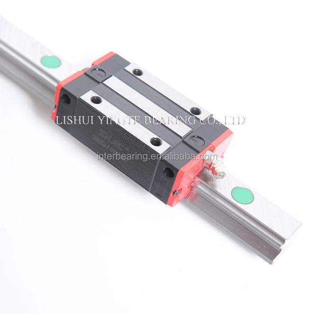 heavy load and raw matertail import from korea linear guideway from china SHAC factory for cnc machine