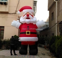 Custom inflatable Santa Claus Inflatable Christmas Snowman Christmas tree arches cartoon mascot model