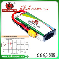 Hobby king rc racing car 1800mah 11.1v lipo battery bms