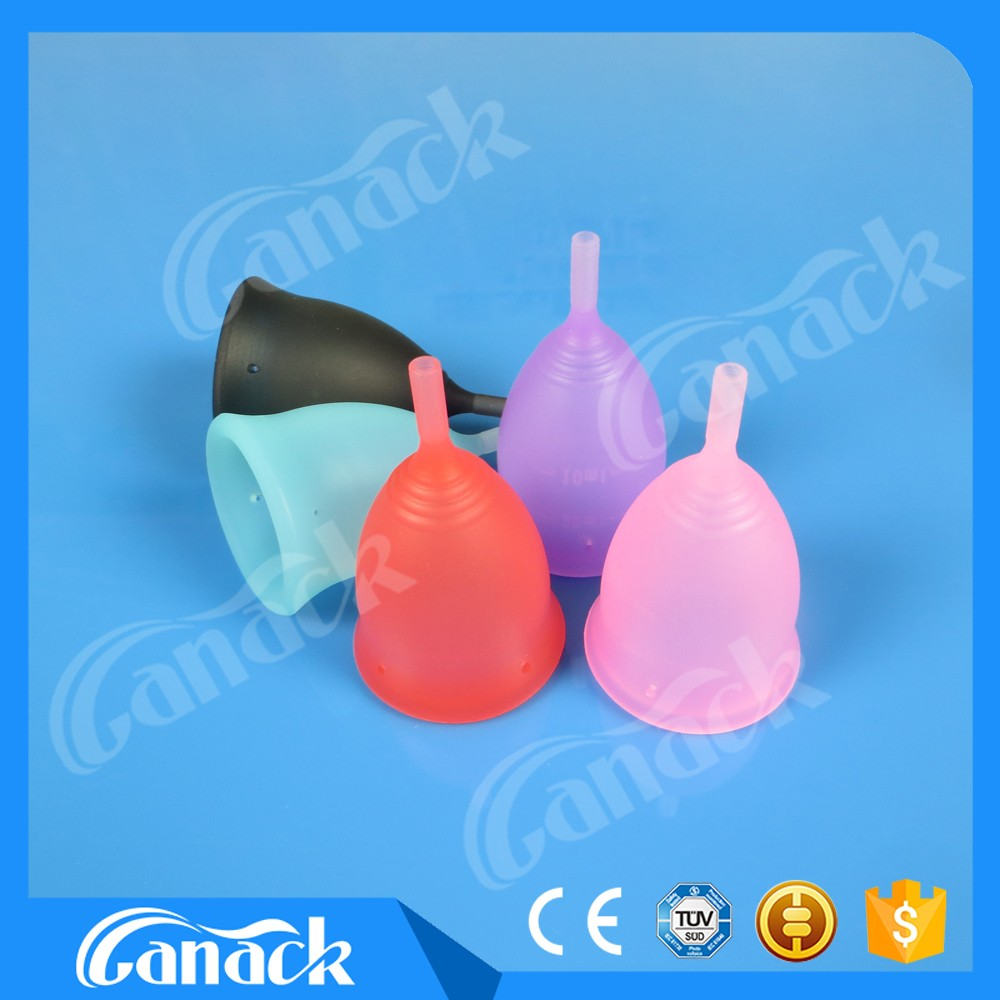 2017 hot products Medical Grade Silicone Anytime Menstrual Cups