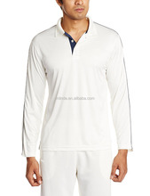 Cricket Team Uniforms T-shirt Pattern Premium Quality Knitted Lightweight Material Men's Full Sleeves Cricket Sweater Shirt