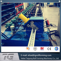 CNC Control System photovoltaic solar structure unistrut bracket roll forming machine made in China with low price