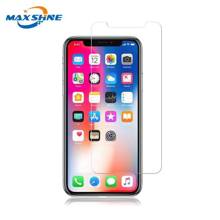 Wholesale 2PacksTempered Glass 2.5D 9H For Iphone Xs Max Screen Protector