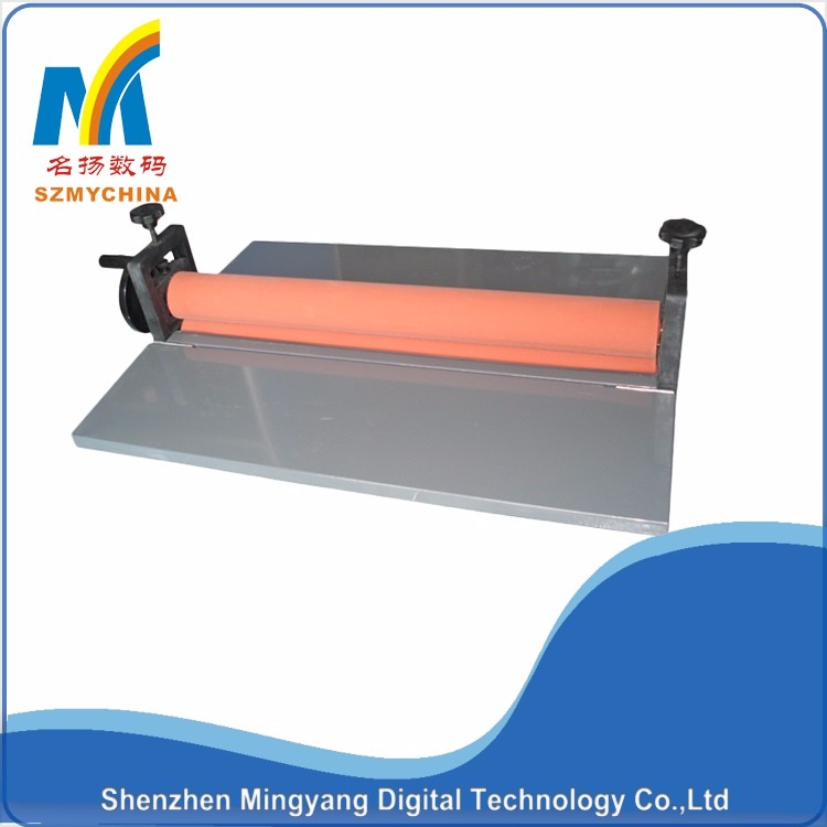 small size 650 manual cold roll laminator