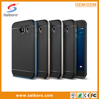 Top Sale aluminum bumper and tpu cover for Samsung S6 wholesale case funny phone cases