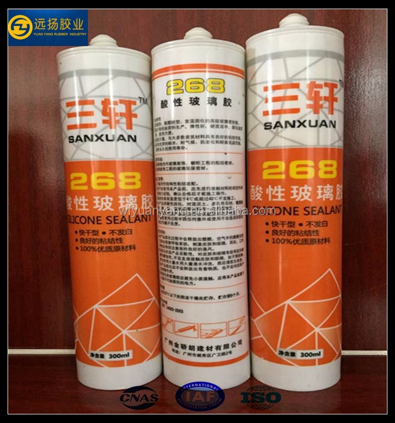Structural Contractor Acetic Liquid Silicone Sealant