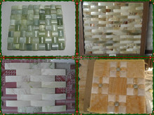 Mosaic Stone/Marble Medallion for Floor/Round Glass Mosaic Tiles,jade mosaic tile