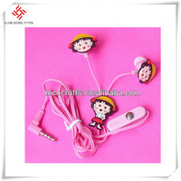 Consumer Electronics Pink Color PVC Headphones