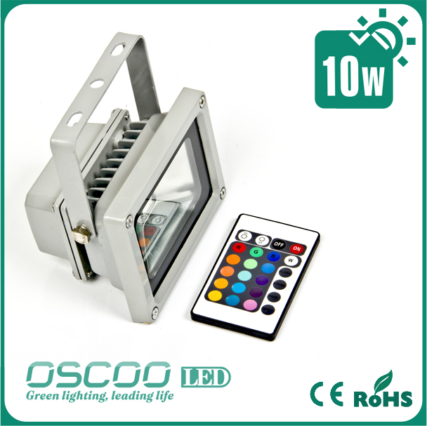 Energy Star 5Years Quality Guarantee Oudoor industrial lamp 2013 new ip65 10w rgb led floodlight (20w 30w 40w 50w optional)