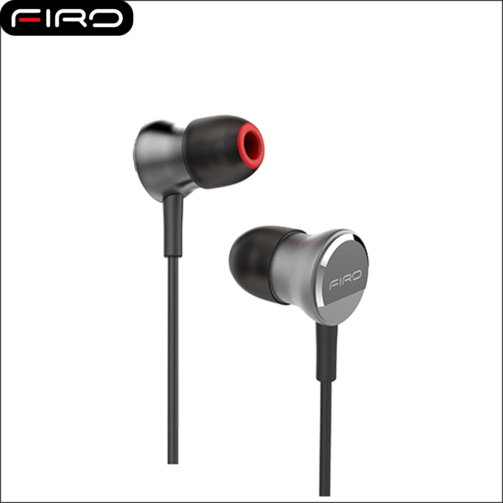 Firo FR1 Metal Stereo Wired Hands Free Earphone With Mic for MP3 Phone