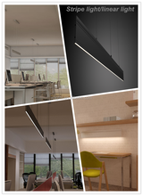 Modern contemporary linear light, pendant office lighting (JS-DC-600-1)