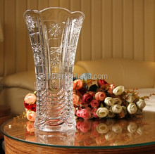 New Design Bohemia Crystal Czech Republic Vase