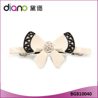 New Design Acetate Barrette plastic bobby pins hair accessories for girls