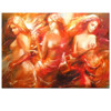 Sexy Nude woman Canvas Wall Art Giclee Canvas Prints Artwork Girl Picture on Canvas Painting Wall Decal